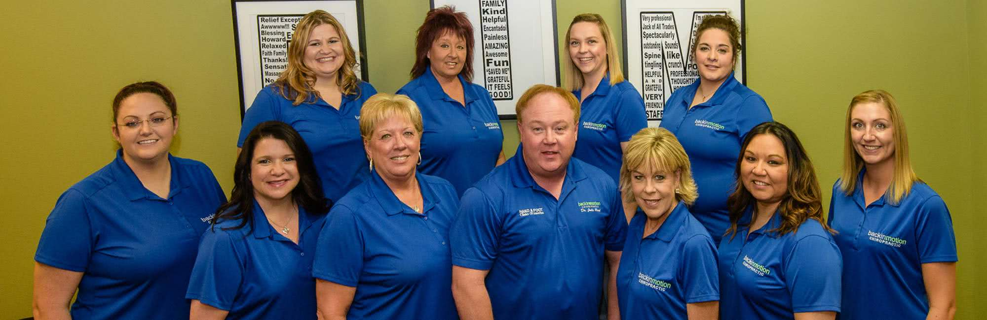 Back In Motion Chiropractic Staff